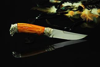 """Мисливський ніж ручного виготовлення """"Фенікс"""", N690, фото 3"""