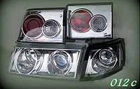Передние фары+задние фонари на ВАЗ 2110 №1., фото 1