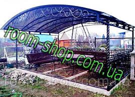 Изготовление металлоконструкций (ферм, навесов), фото 3