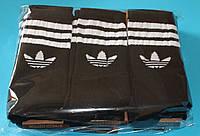 Носки мужские в стиле Adidas 42-45 размер,черные. 12 пар.