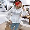Стильная рубашка с модным воротником 44-46, фото 3