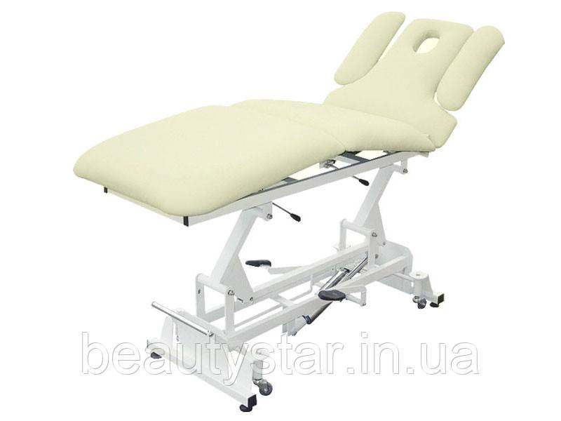 Кушетка косметологічна, масажний стіл 289-В Кремовий