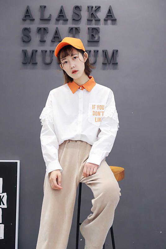 Модная рубашка оверсайз Китай 44-48