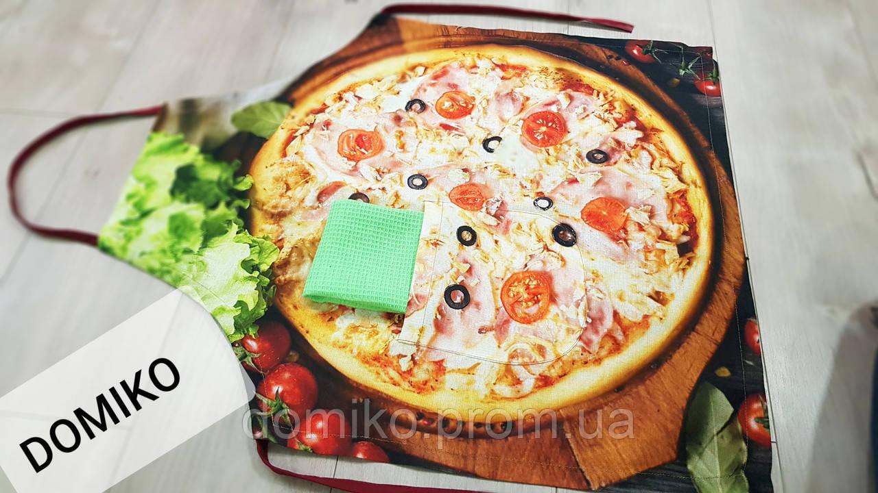 Фартук 3D + полотенце Пицца DOMIKO Узбекистан