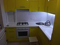 Кухни под заказ фасады крашенный  МДФ