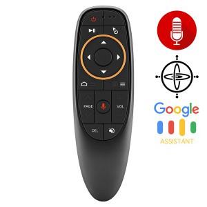 Пульт  аэромышь гироскоп голосовой поиск микрофон G10 Fly Air mouse