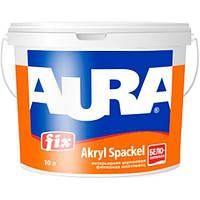 Aura Fix Akryl Spackel 16,5 кг шпаклевка белоснежная для стен и потолков арт.4820166520992