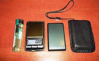 Миниатюрные ювелирные точные весы 6221/6201, 100 г, дискретность 0,01 г, тарирование, крышка, чехол, фото 2