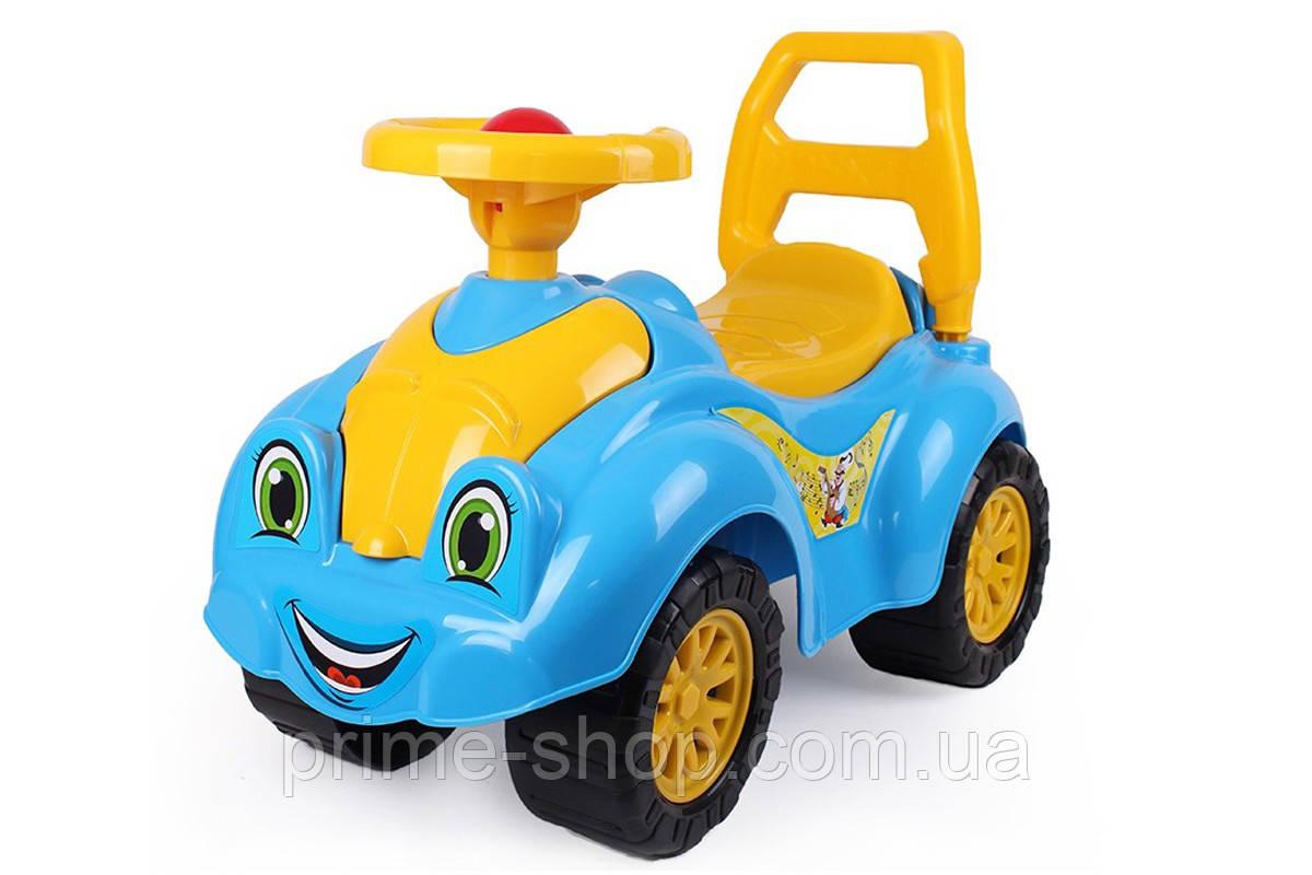 Толокар Машинка Автомобиль для прогулок синий, ТМ Технок