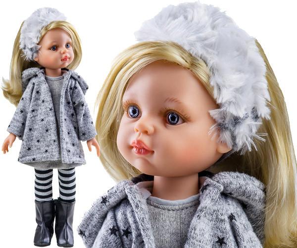 Кукла Клаудия в пальто 32 см Paola Reina 04410
