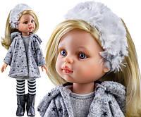 Кукла Клаудия в пальто 32 см Paola Reina 04410, фото 1
