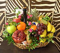 Букет из фруктов в корзине Харьков., фото 1