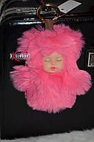 Розовый брелок-пупс, фото 1