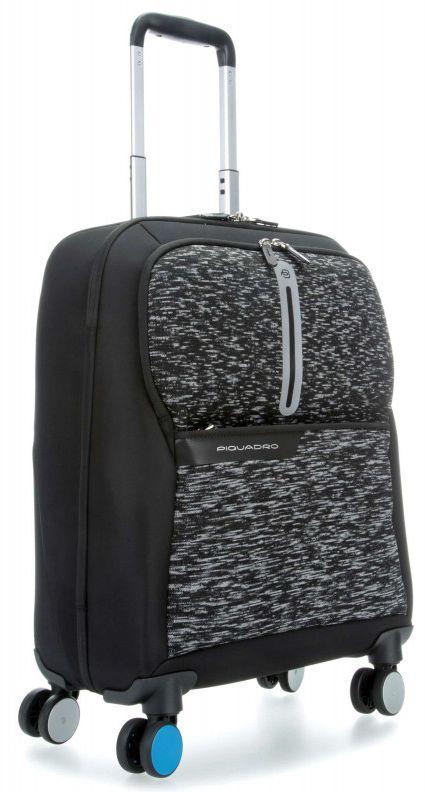 Тканевый чемодан малый Piquadro COLEOS Active BV3849OS37_N 31 л, черный