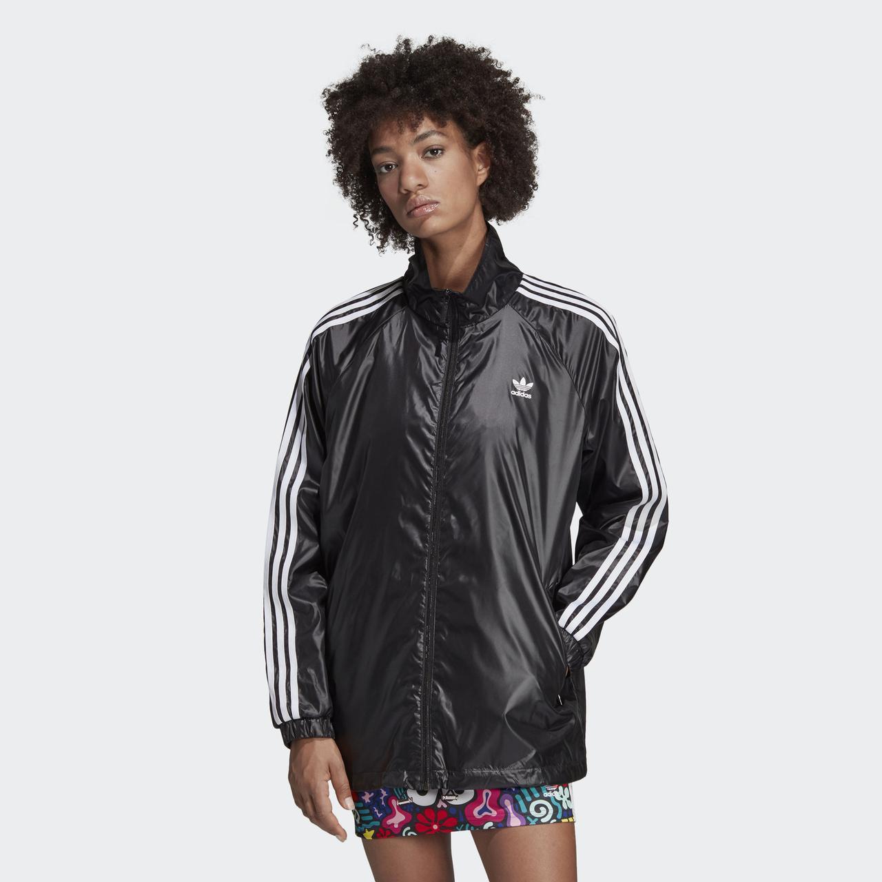425558e3 Ветровка женская Adidas 3-Stripes W DV2655 - 2019 - Интернет магазин Tip -  все