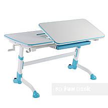 Комплект подростковая парта Amare Blue + детский стул SST3 Blue FunDesk , фото 2