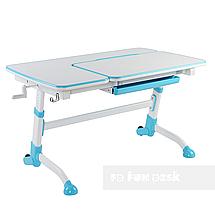 Комплект подростковая парта Amare Blue + детский стул SST3 Blue FunDesk , фото 3