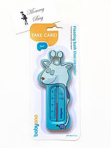 "Детский термометр для ванной ""Жираф"" Синий"