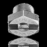 Плоскоструйные форсунки низкого давления с резьбой СЕРИЯ 610