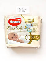 Подгузники Huggies Elite Soft Newborn 1 (3-5 кг) 27 шт.