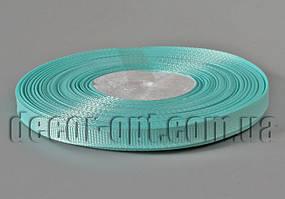 Лента репсовая оттенок светло-бирюзового 0,6 см 25 ярд арт.218