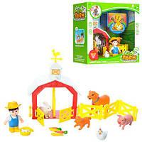 Детский набор  игровой 2009  ферма 23-20см, Farmer series