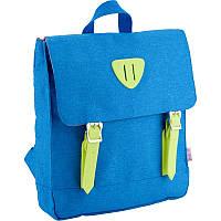 Рюкзак дошкольный для мальчика Kite синий (K18-546XS-3)