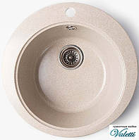 Мийка кухонна з керамограніта Valetti 490