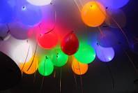 Светодиодные (светяшиеся) шарики в Алуште, Ялте и Симферополе