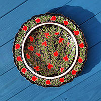 Эксклюзивное блюдо d 24 см. Узбекистан, фото 1