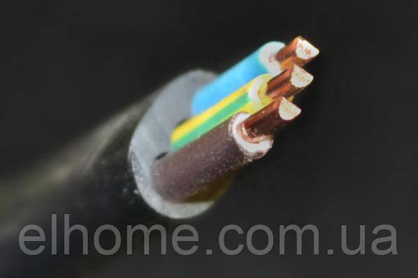 СКЗ ВВГ-П нг 3*2,5 мм2 черный 100м С5-8268 (м)