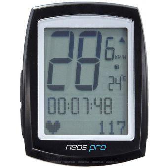 Велокомпьютер Giant Neos PRO+ мульт.функц., черный (GT)