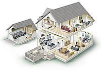 Дизайн квартир, домов и т.д. в 3d