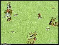 Обои на стену, виниловые,дружок611-08, детские обои, 0,53*10м
