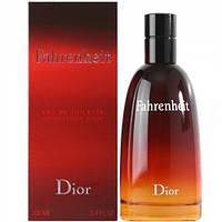 Туалетная вода CHRISTIAN DIOR для мужчин Christian Dior Fahrenheit EDT (Кристиан Диор Фаренгейт)    100 мл (Копия)
