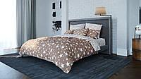 Двухспальный постельный комплект STAR BROWN, BalakHome