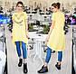"""Женское летнее свободное платье до больших размеров 15101 """"FRIENDS"""" в расцветках, фото 4"""