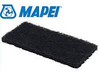 Губка чорна Mapei Tamponi neri pul.Fughe, жорстка для очистки фуги на нерівних поверхнях