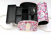 Кейс для мастера, чемодан. Цветы.