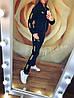 """Женский спортивный костюм: штаны и кофта бомбер с золотистыми лампасами, реплика """"Puma"""", фото 5"""