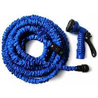 Садовый шланг  для полива  X-hose синий 7,5 м