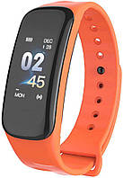 Фитнес браслет Lerbyee C1 Plus | IP67 | Тонометр | Оранжевый, фото 1