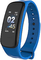 Фитнес браслет Lerbyee C1 Plus | IP67 | Тонометр | Синий | Гарантия, фото 1