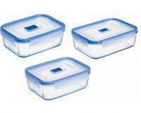 ✅ Набор емкостей для пищевых продуктов прямоугольная-3 предмета Luminarc L7942 (820мл, 1220мл, 1970мл)