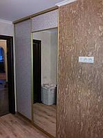 Шкаф-купе гардеробная на заказ с зеркалом, фото 1