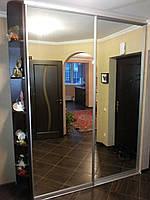 Шкаф-купе с боковыми полочками, фото 1