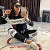 Молодежный женский спортивный костюм: штаны и кофта без змейки, реплика Givenchy, фото 10