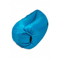 Надувной матрас-гамак Ламзак Original 2,2м. Blue