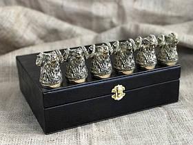 Набір бронзових чарок Nb Art Баран 6 шт 48440029