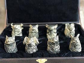 Набір бронзових чарок Nb Art Полювання 8 шт 48440035